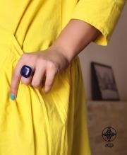 زيورآلات دست ساز به ذوق و سبك تيله  انگشتر